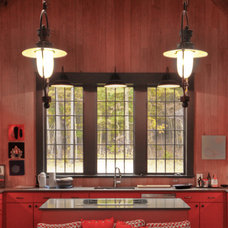 Rustic Kitchen by Dungan Nequette Architects
