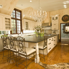 Rustic Kitchen by Kellie Burke Interiors
