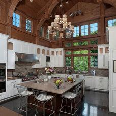 Rustic Kitchen by Littman Bros Lighting