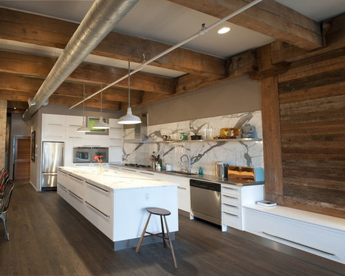 modern rustic photos - Rustic Modern Kitchen