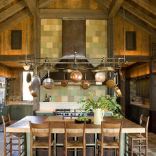 Rustic Kitchen by NICOLEHOLLIS