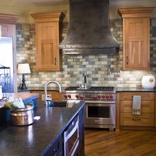Traditional Kitchen by Oak Hill Iron