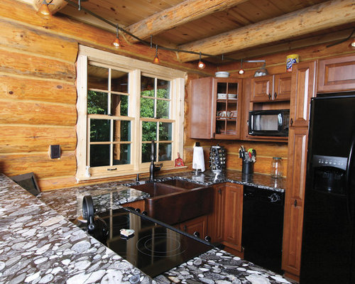 Log Cabin Kitchens | Houzz