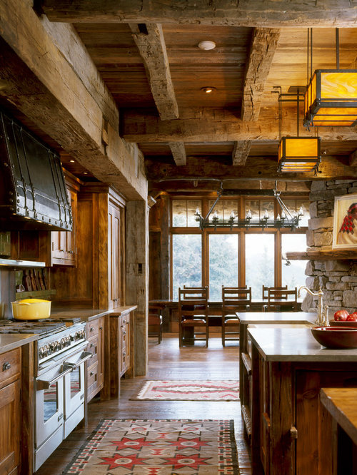 House Kitchen Design: Rustic Kitchen Cabinets Home Design Ideas, Pictures
