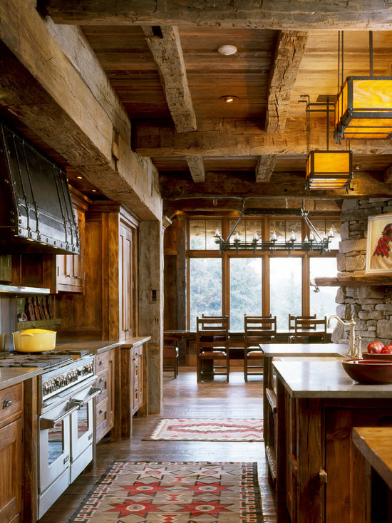 Rustic Kitchen Cabinets Houzz