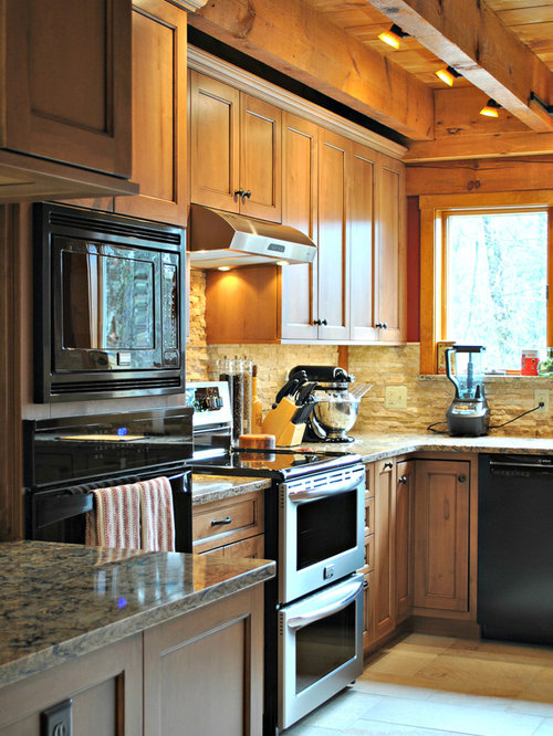Rustic Kitchen Remodel In Princeton, MA