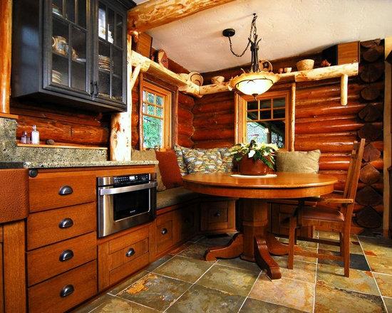 cabin kitchen   houzz