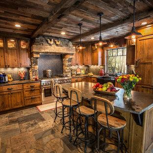 Rustic kitchen pictures - Kitchen - rustic kitchen idea in Minneapolis