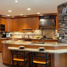 Craftsman Kitchen by Studio D Interiors