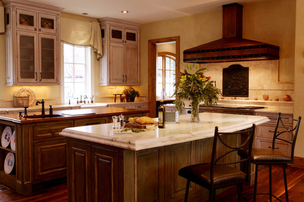 Rustic Kitchen by Karr Bick Kitchen and Bath