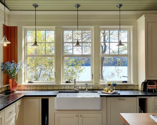 kitchen windows over sink sink window treatment houzz 6483