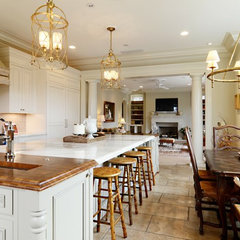 traditional kitchen by Valerie DeRoy Interiors, LLC
