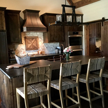 Rustic Kitchen with Modern Conveniences