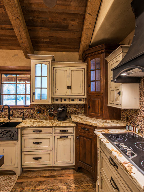 Kitchen Design Ideas, Renovations & Photos with Brown ...