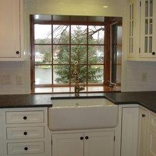 Rustic Kitchen by Spectrum Construction & Development Co., Inc.