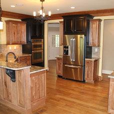 Rustic Kitchen by Rusert Custom Homes