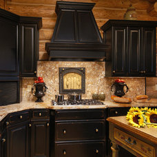 Rustic Kitchen by Distinctive Cabinetry of the High Country