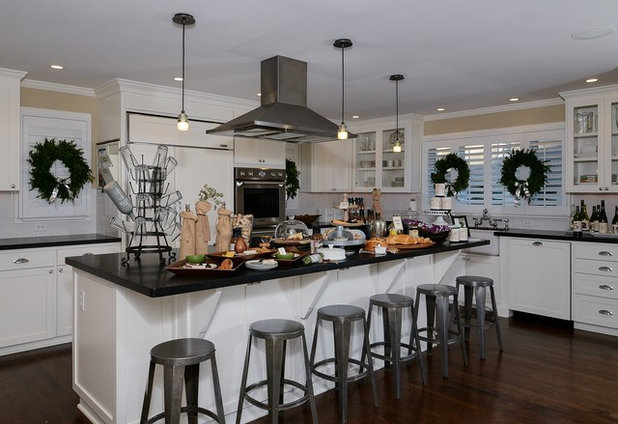 Traditional Kitchen by Kerrie Kelly Design Lab
