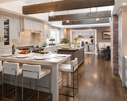 Rustic Modern Kitchen a stylish space where a family can gather Saveemail