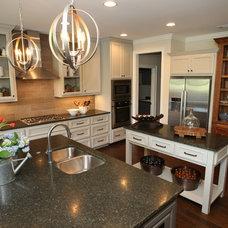 Transitional Kitchen by Nandina Home & Design