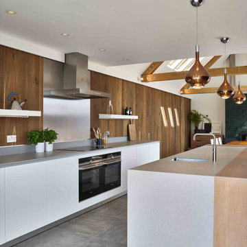 Rustic Modern Family Kitchen