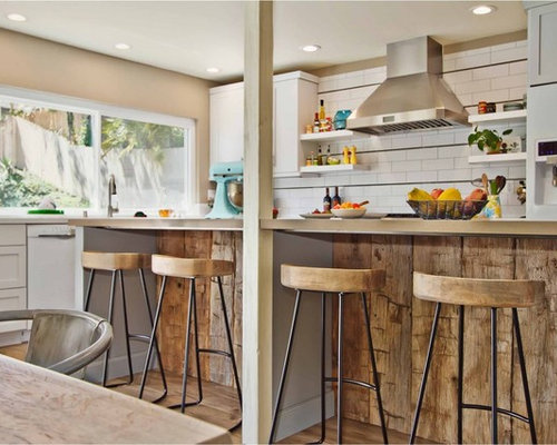 saveemail - Rustic Modern Kitchen