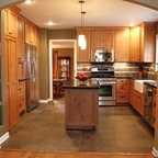 Triple Stack Traditional Kitchen Chicago By The