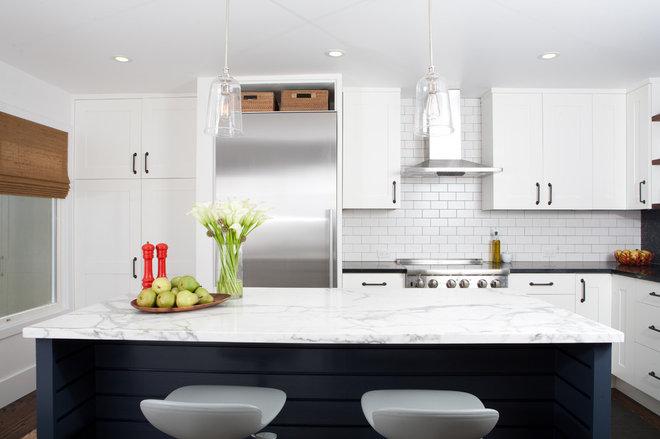 Midcentury Kitchen by Regan Baker Design