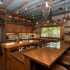 Rustic Kitchen by Wright-Built