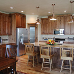 traditional kitchen by Vance Vetter Homes