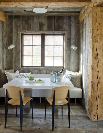 Rustic Kitchen by On Site Management, Inc.