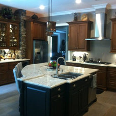 Rustic Kitchen by A and E kitchen design inc.