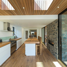 Contemporary Kitchen by Heritage Doors and Floors LTD