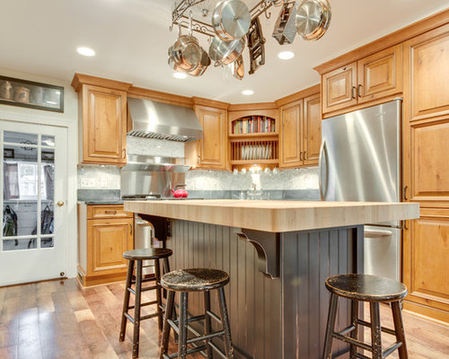 Rustic Traditional Kitchen Remodel Middletown, MD