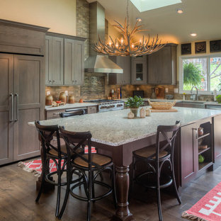 Rustic Transitional Kitchen