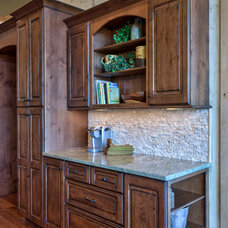 Rustic Kitchen by Advance Cabinetry MI