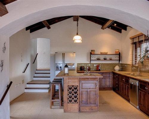 Fotos de cocinas dise os de cocinas r sticas - Ver cocinas rusticas de obra ...