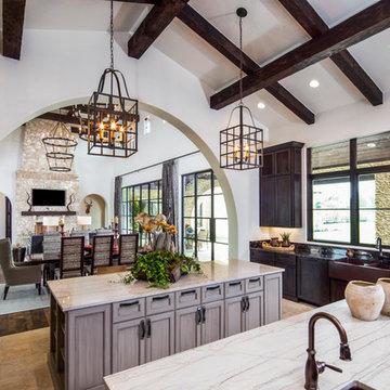 Rustic Villa interiors