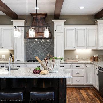 Rustic White Kitchen
