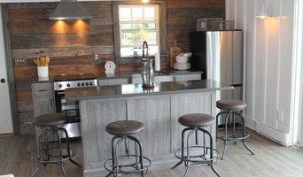 Rustic , White Oak Cabinets