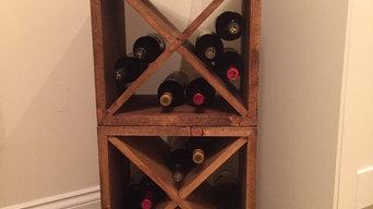 Rustic Wine Cubes