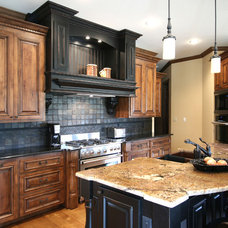 Traditional Kitchen by Walker Woodworking