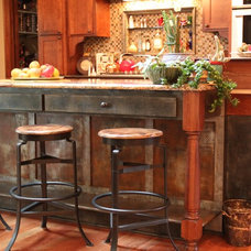 Eclectic Kitchen by Textural Hues LLC