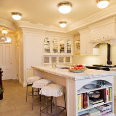 Traditional Kitchen by Fabrizio Construction llc