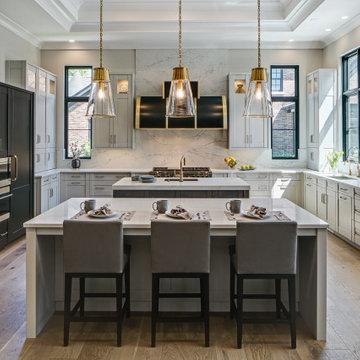 Rutt Cabinetry - Bold Styled Kitchen - Drury Design