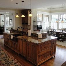 Craftsman Kitchen by Benhoff Builders Inc
