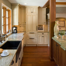 Eclectic Kitchen by HBF plus Design