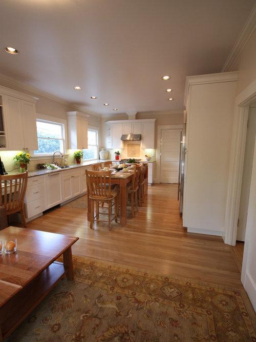 Narrow Kitchen Layout | Houzz