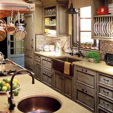 Mediterranean Kitchen by RYAN ASSOCIATES GENERAL CONTRACTORS