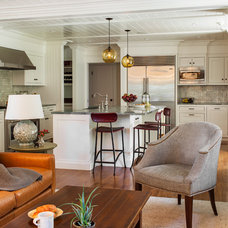 Traditional Kitchen by Sean Litchfield Photography